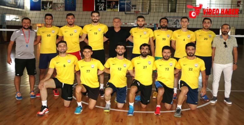 Büyükşehir Belediyesi Voleybol Takımı, Yeni Sezonda Hazırlıklarına Başladı