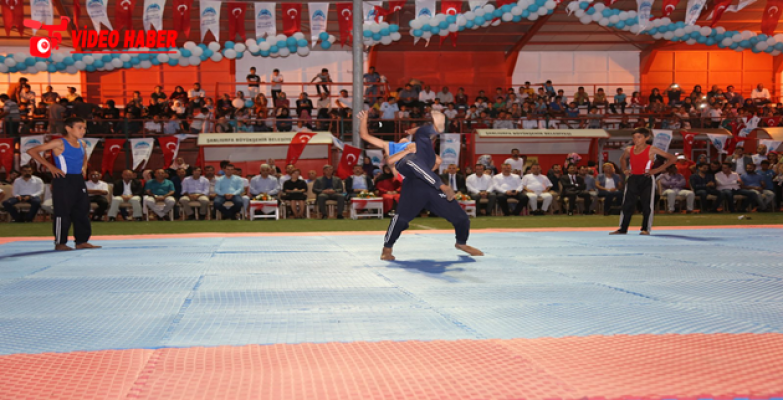 Eyyübiye Belediyesi Binlerce Gençle Spor Şenliği Düzenledi.