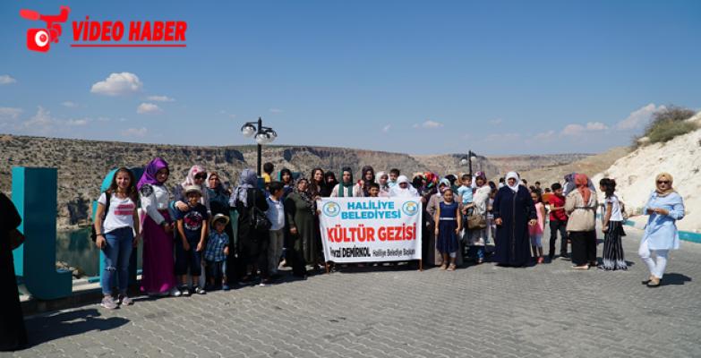 Haliliye Belediyesi 104 Kadın Ve 46 Çocuğu, Halfeti'ye Götürdü