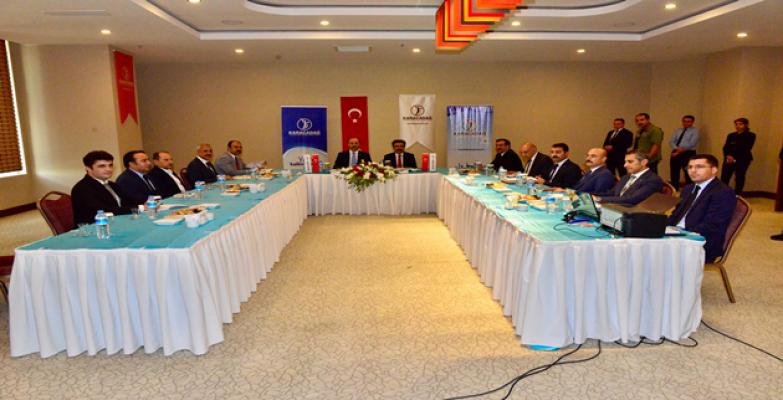 Karacadağ Kalkınma Ajansı Yönetim Kurulu Toplandı