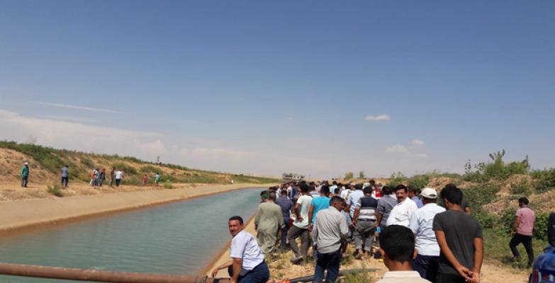 Şanlıurfa'da Sulama Kanalında Genç Boğuldu
