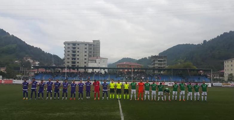 Karaköprü Artvin Hopaspor'a 1-0 Yenildi