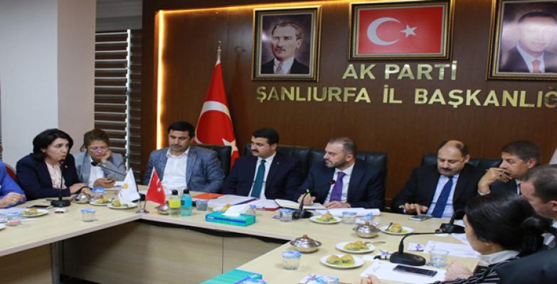 Teşkilat Başkanı Erkan Kandemir Şanlıurfa'da