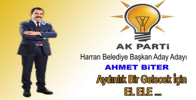 Ahmet Biter Harran'dan Aday Adayı Oldu