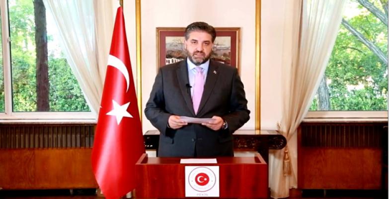 """Büyükelçi Önen'den 10 Kasım mesajı """"2023 hedeflerimize emin adımlarla ilerliyoruz"""""""