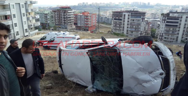 Şanlıurfa'da Trafik Kazası, 3 Yaralı