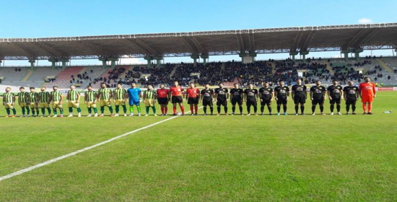 Şanlıurfaspor 1-1 Darıca Gençlerbirliği