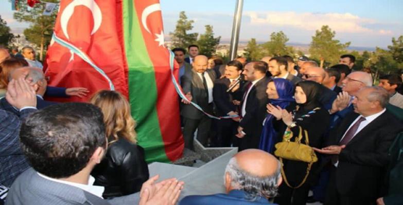 Türkiye-Azerbaycan Kardeşliği Eyyübiye'de Yaşatılacak