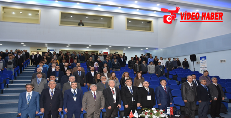 """Urfa'da """"VI. Uluslararası Gap Mühendislik Kongresi"""" Başladı"""