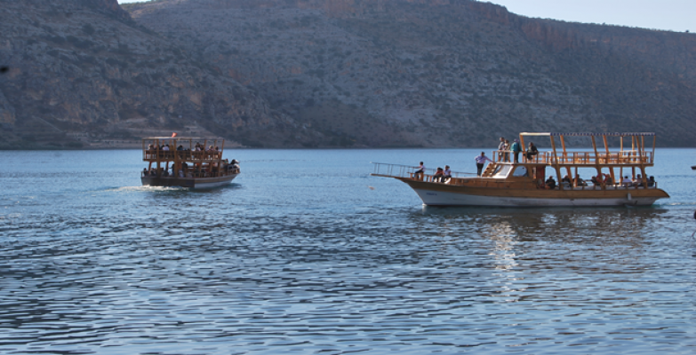 Yerli Ve Yabancı Turistler Halfeti'nin Ekonomisine Önemli Katkı Sağladı