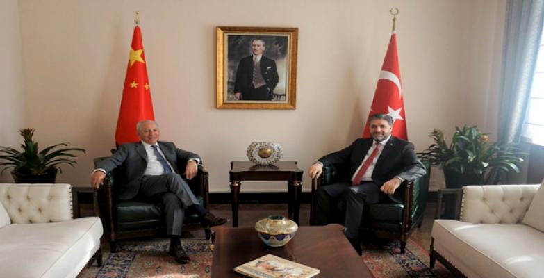 Büyükelçi Önen, Çinli Elçilerle
