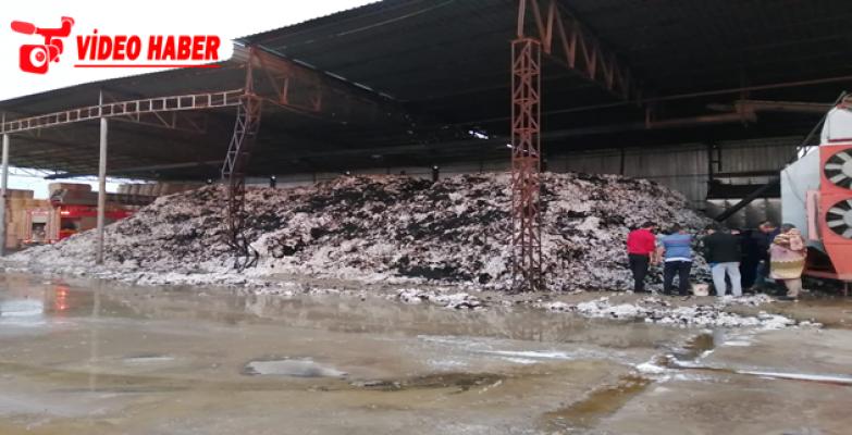 Urfa'da Fabrikada Yangın