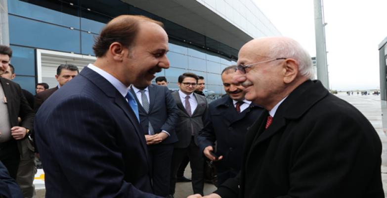 27. Meclis Başkanı Kahraman Valiliği Ziyaret Etti