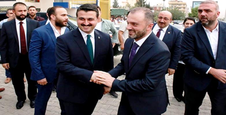 AK Parti Genel Başkan Yardımcısı Erkan Kandemir, Şanlıurfa'da;