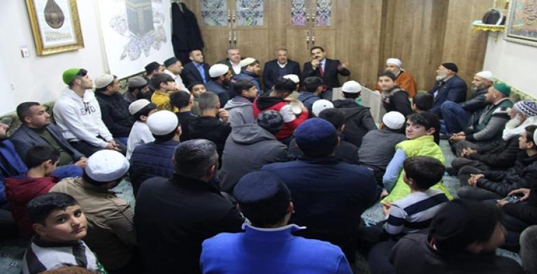 AK Parti Haliliye Belediye Başkan adayı Mehmet Canpolat coşuyor, coşturuyor;