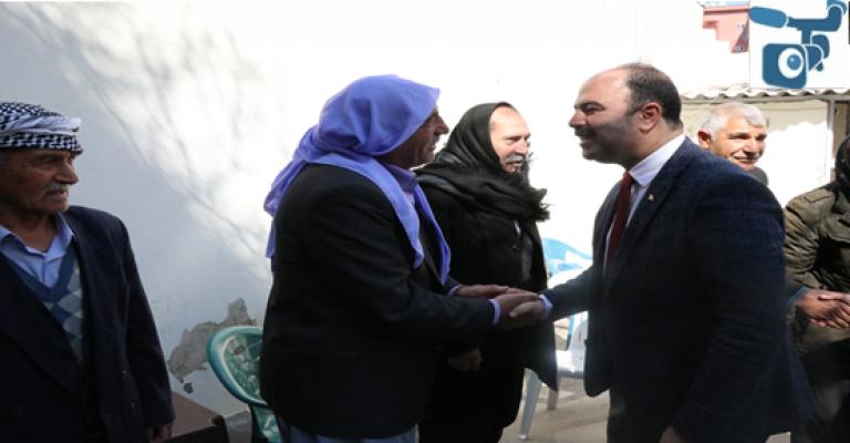 Başkan Çiftçi'den Siverek İlçe Teşkilatı'na Ziyaret