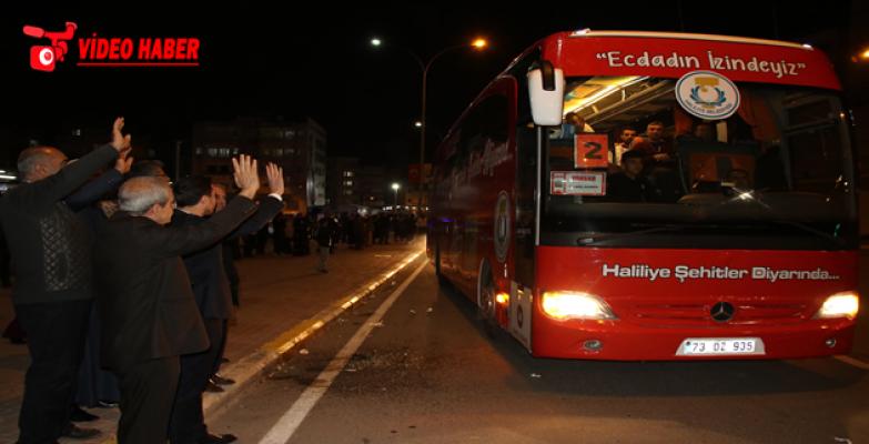 Başkan Demirkol, Başarılı Öğrencileri Çanakkale'ye Uğurladı