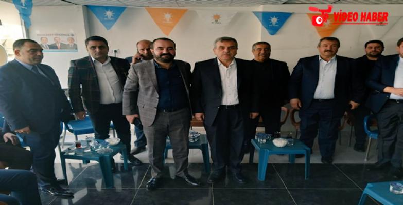 Beyazgül'den Karahan Ve İzol'un Seçim Ofisine Ziyaret