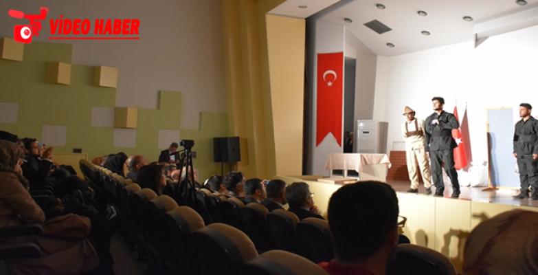 Çanakkale Zaferinin 104. Yılı, HRÜ'de Düzenlenen Etkinlikle Kutlandı.