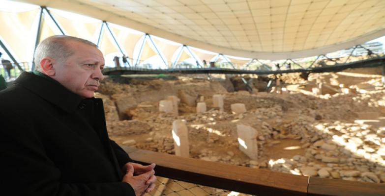 Cumhurbaşkanı Erdoğan  Göbeklitepe'nin Resmi Açılışını Yaptı