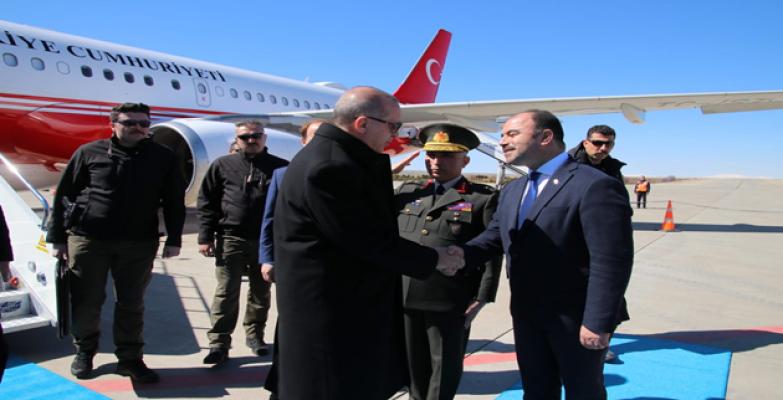 Cumhurbaşkanı Erdoğan Urfa'da!