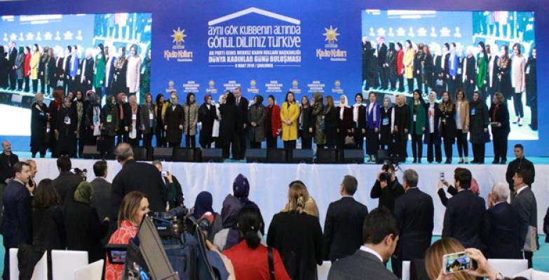 Cumhurbaşkanı Erdoğan Urfa'da Kadınlar Gününde Konuştu