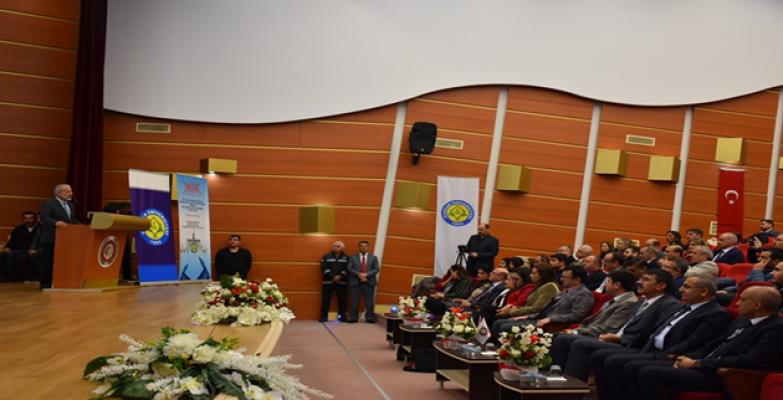 Desteklere İlişkin Birinci Bölgesel Bilgilendirme Toplantısı Harran Üniversitesinde Düzenlendi