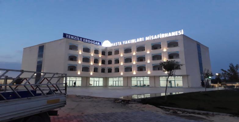 Eyyubiye Belediyesi Hasta Yakınları Misafirhanesine Tenzile Erdoğan İsmini Verdi