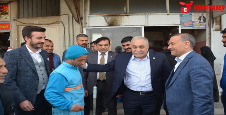 Fakıbaba'dan Esnaf Ziyareti