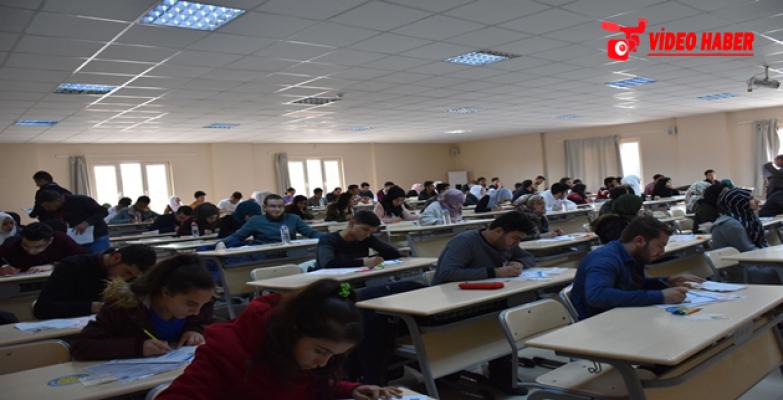 Harran Üniversitesi Yabancı Uyruklu Öğrenci Sınavı Yaptı