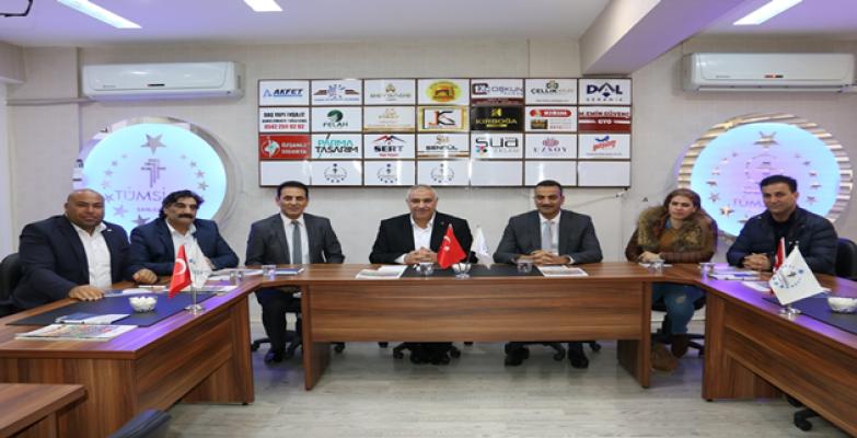 Irak Türk Ortak Ticaret ve Sanayi Odası Başkanı TÜMSİAD'ı ziyaret etti