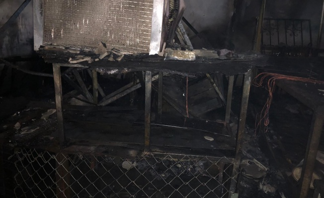 İşyerinde Yangın Çıktı