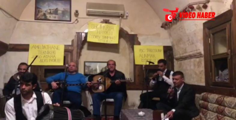 Şanlıurfalı Atama Mağdurlarından Müzikli Çağrı