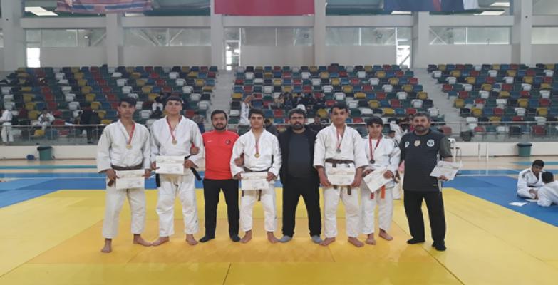 Şanlıurfalı judocular bölge 1.'si oldu