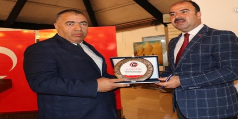 ŞUÇGAD'tan Başkan Çiftçi'ye Teşekkür Plaketi