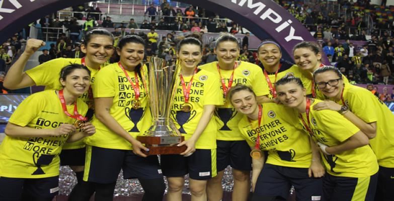 Urfa'da Oynanan Kadınlar Türkiye Kupasını Fenerbahçe Kazandı