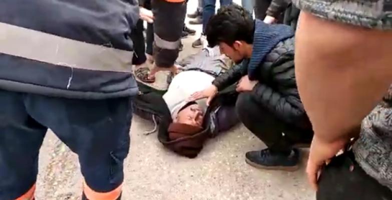 Urfa'da Otomobil Motosiklete Çarptı 1 Yaralı