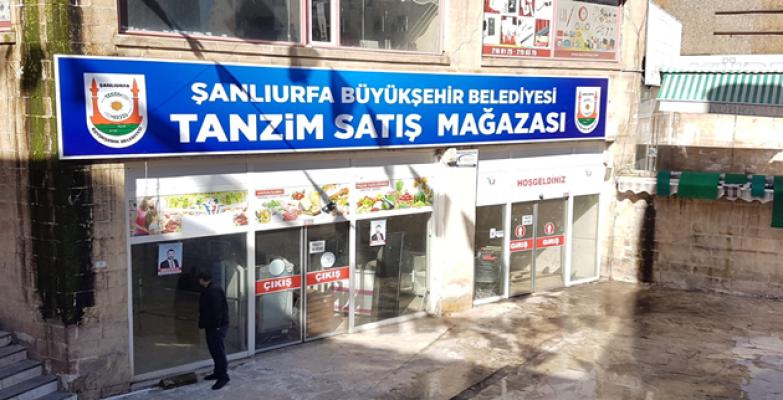Urfa'da Tanzim Satış Yeri Açıldı
