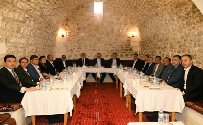 AK Parti Teşkilatı  Durum Değerlendirmesi Yaptı