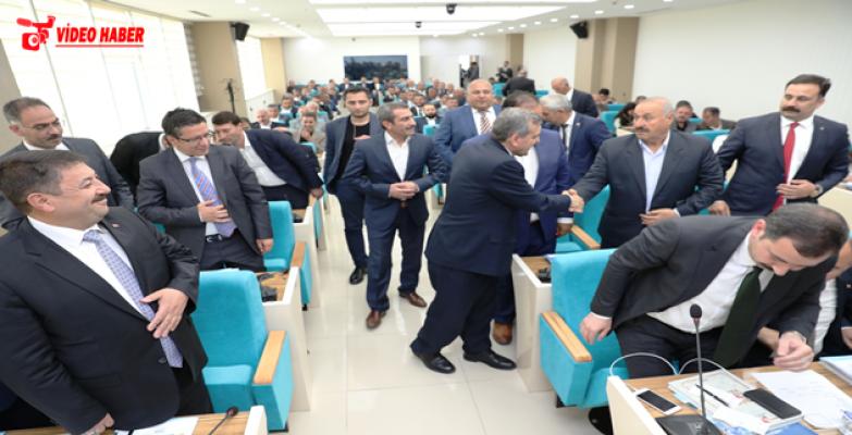 Büyükşehir Meclisi'nde Yeni Dönem Başladı