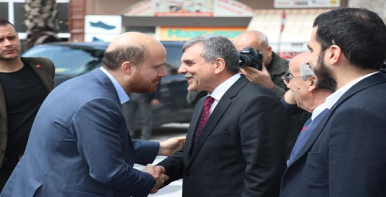 Erdoğan Büyükşehir'i Ziyaret Etti