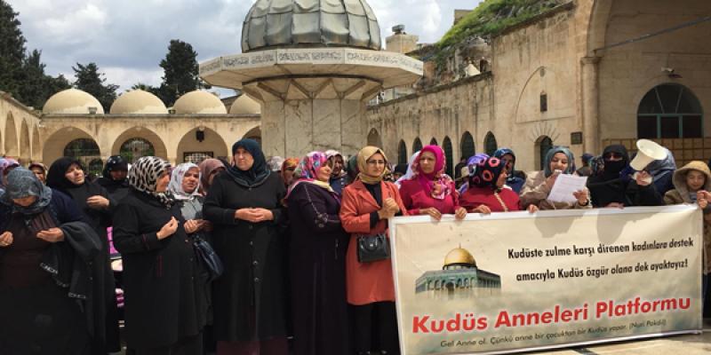 """""""Herkesi Kudüs ve Filistinlilere Sahip Olmaya Davet Ediyoruz"""""""