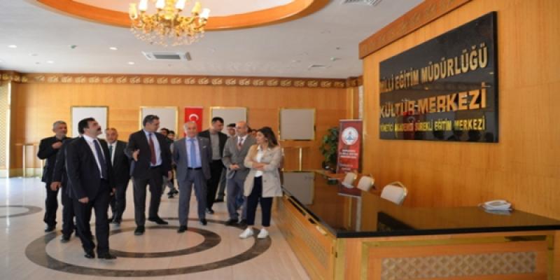 Milli Eğitim Bakan Yardımcısı Urfa'da