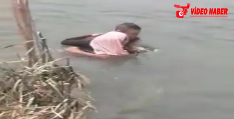 Birecik'te Fırat Nehri'ne Atlayan Genç Kız Kurtarıldı