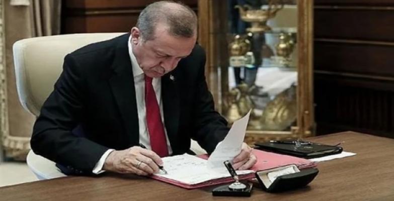 Cumhurbaşkanı Erdoğan'dan 3 Önemli Atama!