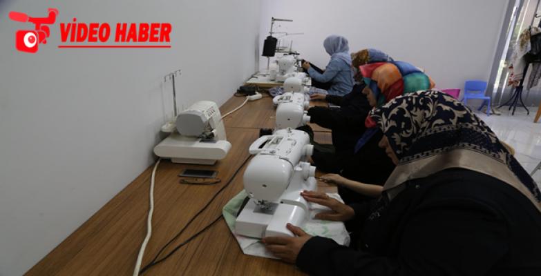 Kadınlar, Haliliye Belediyesi İle Meslek Öğreniyor