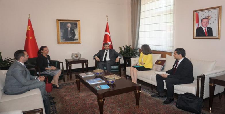 Türkiye'nin Expo Komiseri Müge Varol Ilıcak'tan Büyükelçimiz Önen'e ziyaret