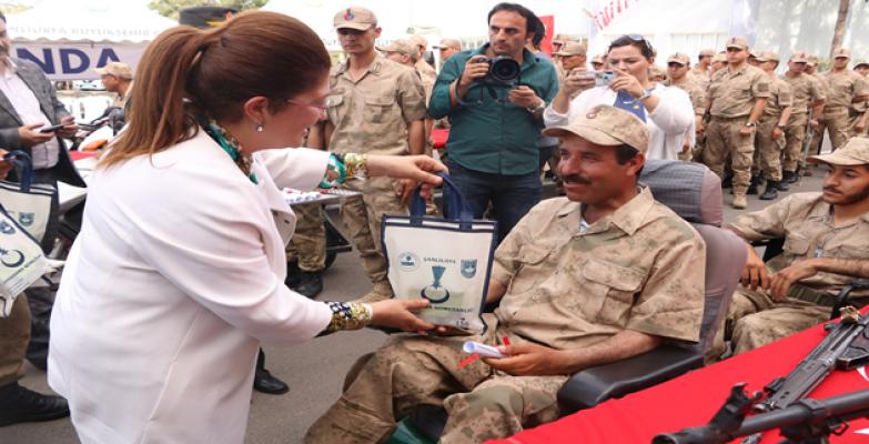 Urfa'da Engellilerin 1 Günlük Askerlik Sevinci