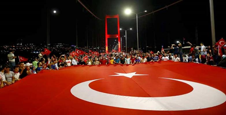 Büyükelçi Önen'den 15 Temmuz Hain Darbe Girişiminin 3. Yıldönümü Açıklaması;