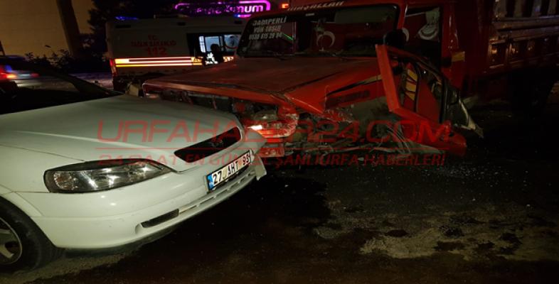 SSK Kavşağında kaza, 7 yaralı